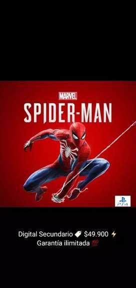 Spiderman PS4 Goty Secundario Original