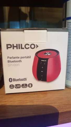 Vendo parlante portátil philco muy buen sonido