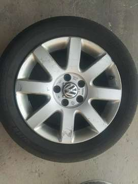 "Aros de aleación 16"" para Volkswagen (Usados)"