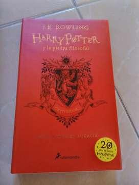 Vendo libros de Harry Potter edición 20aniversario