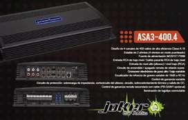 Amplificador power bass 400.4 joker car audio