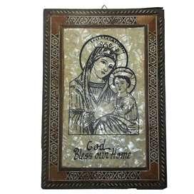 Cuadro Religioso 30,5cm X 20,7cm God Bless Our Home