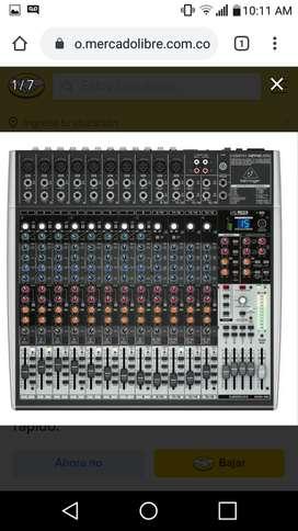 Vendo cambio consola mixer 16 canales