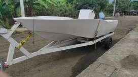 Vendo o cambio lancha - bote de pesca deportiva consola central