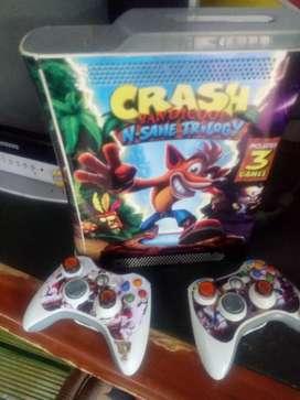 Vendo Xbox 360 v 5 .o con disco duro