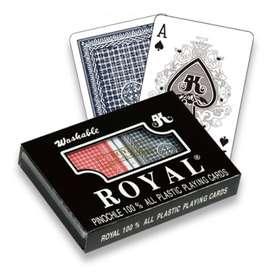 Cartas Naipe Plástico Poker Mazo-OFERTA