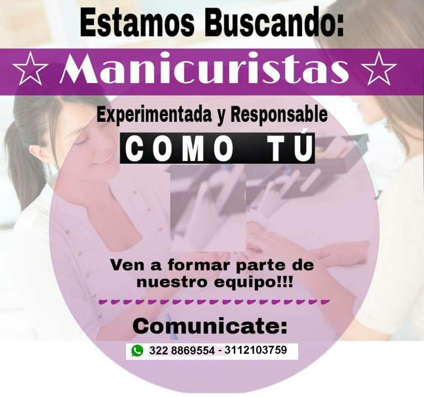 BUSCAMOS MANICURISTAS EXPERTAS 0