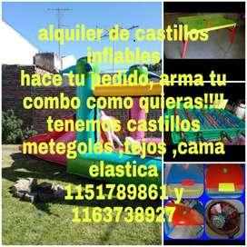 Alquilo Castillos Inflables