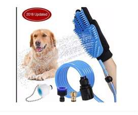Cepillo Guante Manguera Mascotas