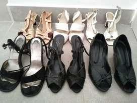 Lote usado de calzado