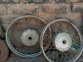 Vendo o permuto  ruedas