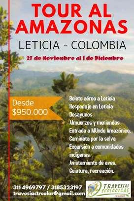 Tour al Amazonas colombiano - Leticia
