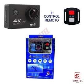 Camara Wifi + control Tipo 4K +Accesorios