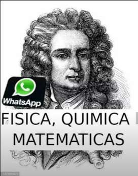 ASESORIAS NEWTON PROFESOR DE FISICA - MATEMATICAS - QUIMICA