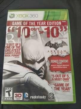 Batman Arkham City Xbox 360 Edición Goty