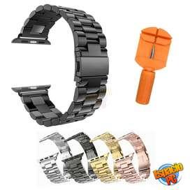 Pulsos Bandas Compatibles Iwatch Acero