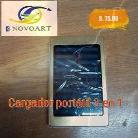 Cargador Portátil Solar 30000 Mah