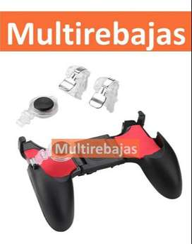 Gamepad 5 En 1 Joystick Palanca Gatillos Boton Disparo