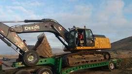 Vendo excavadora John Deere GLC 2014