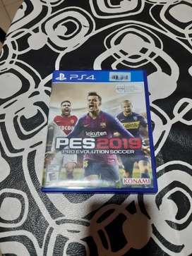Pes 2019 Ps4 físico  Español Latino Full
