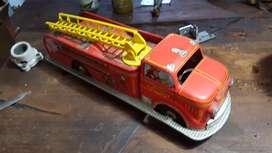 carro bomberos hojalata marca marx