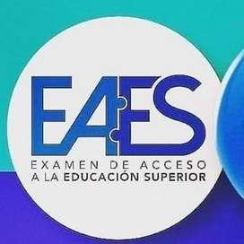 PREPÁRATE PARA EL EXAMEN DE ACCESO A LA EDUCACIÓN SUPERIOR (EAES)