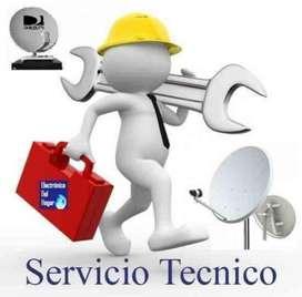 Servicio Tecnico Antenas Tv Satelital