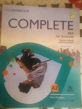 Vendo Libro Ingles Complete MacMillan 6 Primaria