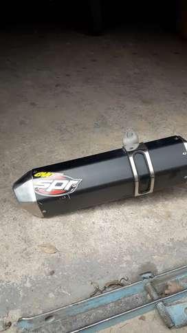 Escape Evo 5 SPR  para Honda tornado acero inox