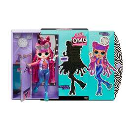 Lol Sorpresa!muñeca De Moda Omg Serie 3 Roller Chick.