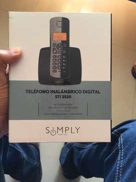 Teléfono digital inalambrico
