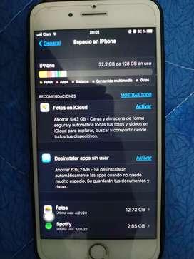 iPhone 7 plus usado 9/10 128gb dorado, completamente funcional.