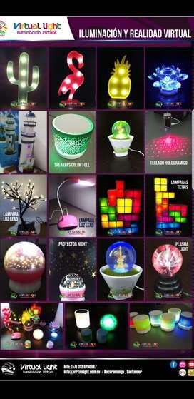 Jugueteria lamparas levitacion importado