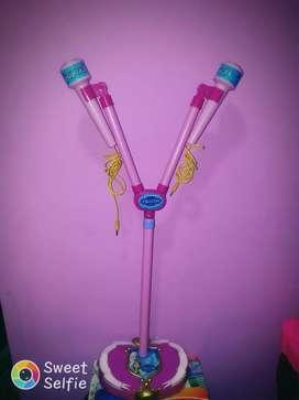 Karaoke Frozen con 2 Microfonos
