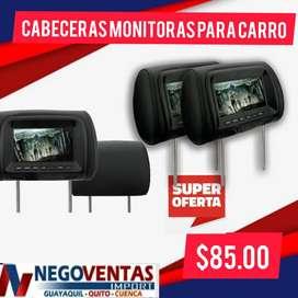 CABECERAS MONITORAS PARA CARRO