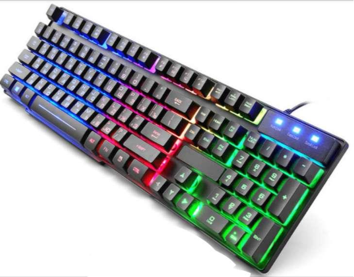 Teclado luminoso para computador ventas