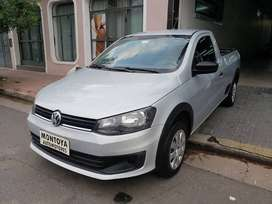 VOLKSWAGEN SAVEIRO SAFETY MOD 2014 GNC IMPECABLE.