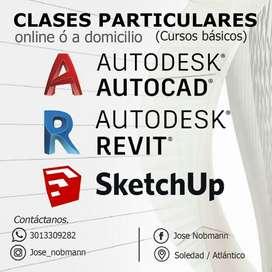 Clases de Autocad, Revit Y Sketchup