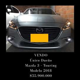 Mazda 3 - Touring 2.0 - Único Dueño - Automático