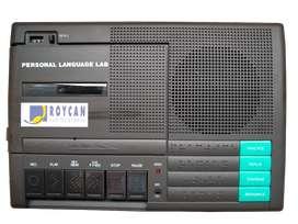 Grabadora de cassette con grabación digital para aprendizaje de idiomas ROYCAN