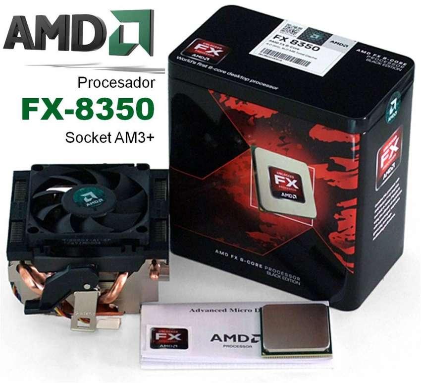 AMD 8350 COMBO PROCESADOR Y BOARD ASUS 990FX OCZ REAPER EDITION 8 0