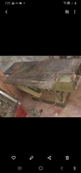 Máquina multifuncional carpinteria escoplo cepillado mesa de corte