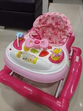Caminador para bebé niña