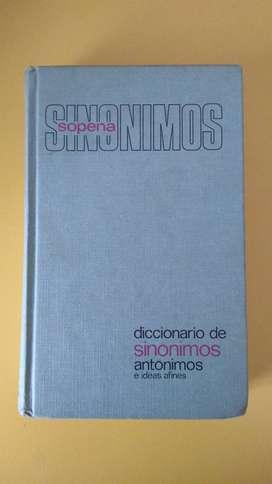 Diccionario de Sinónimos, antónimos - Sopena