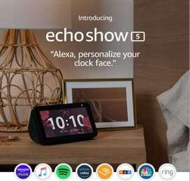 Echo Show 5 – Pantalla inteligente compacta con Alexa