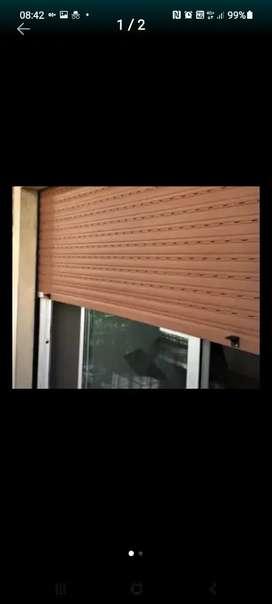 Cambio cinta cortina de enrrollar