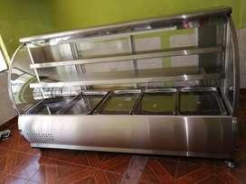Vendo frigorífico carnicero 6 bandejas en acero inoxidable
