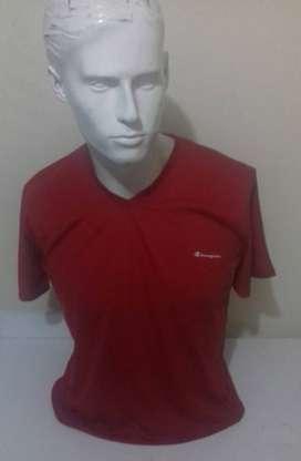 Camisetas casuales cuello en V