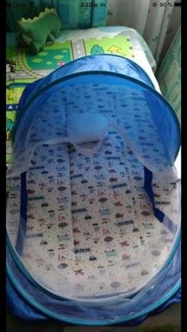 Colchon con toldillo para bebe