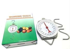 Bascula 200 Kg Balanza Mecánica Colgar Peso Colgante Reloj